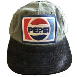 PEPSI Patch Toppers Strapback Adjustable Hat